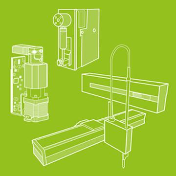 Liquid handling OEM components
